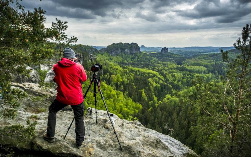 Sächsische Schweiz – sportlich – Schrammsteine