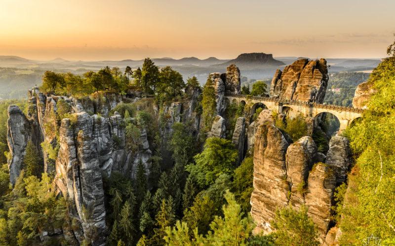 Sächsische Schweiz – entspannt – Bastei